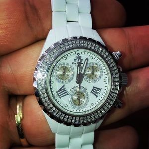 Accessories - Woman's Techno By JPM Diamond Watch